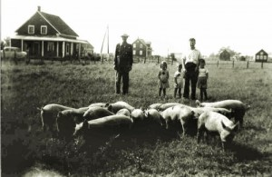 Visite à la ferme des Brouillette en 1931